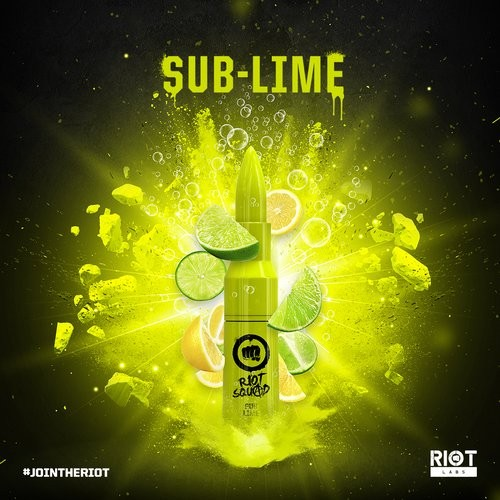 Riot Squad - Sub Lime - 50ml (DIY-Liquid)