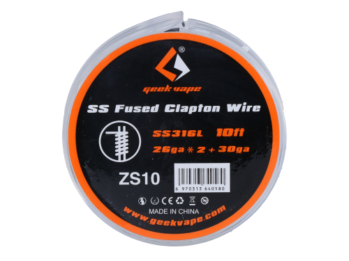 GeekVape SS Fused Clapton Wire - SS316L