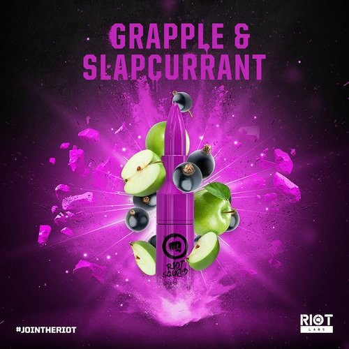 Riot Squad - Grapple & Slapcurrant - 50ml (DIY-Liquid)
